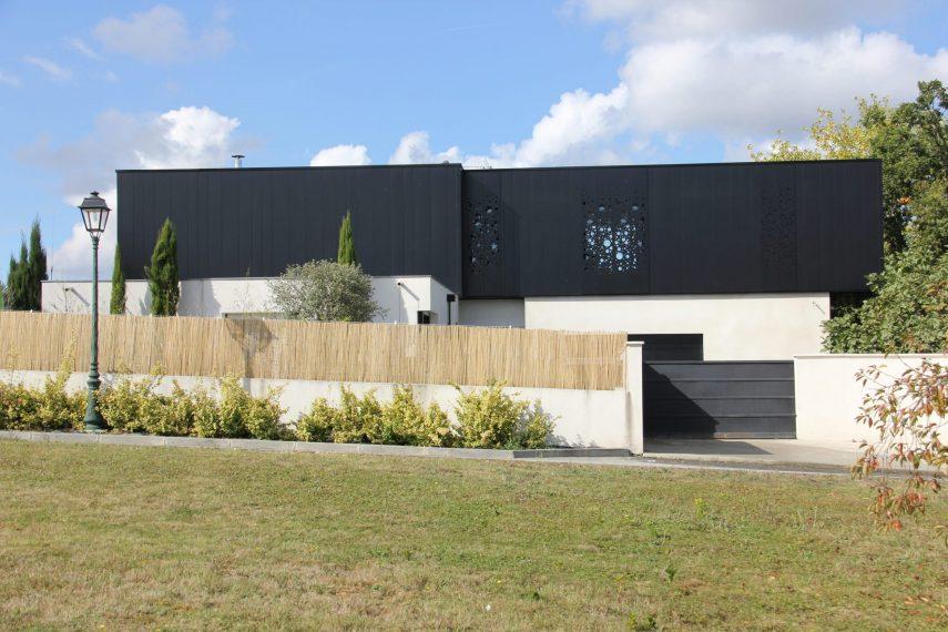 Vue de la façade sur rue surélévation F.
