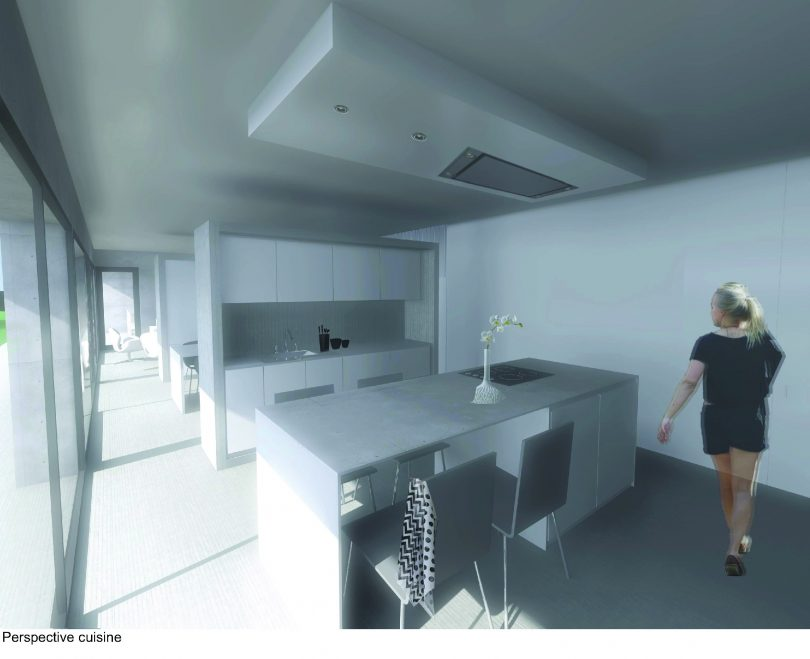 Architecture d'intérieur meuble cuisine