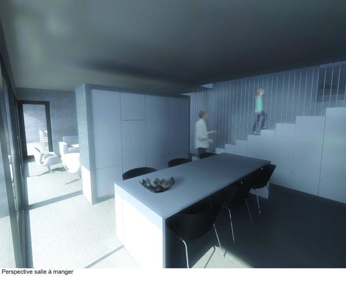 Architecture d'intérieur meuble salle à manger
