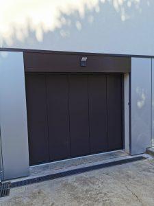 Chantier R nouvelle porte de garage